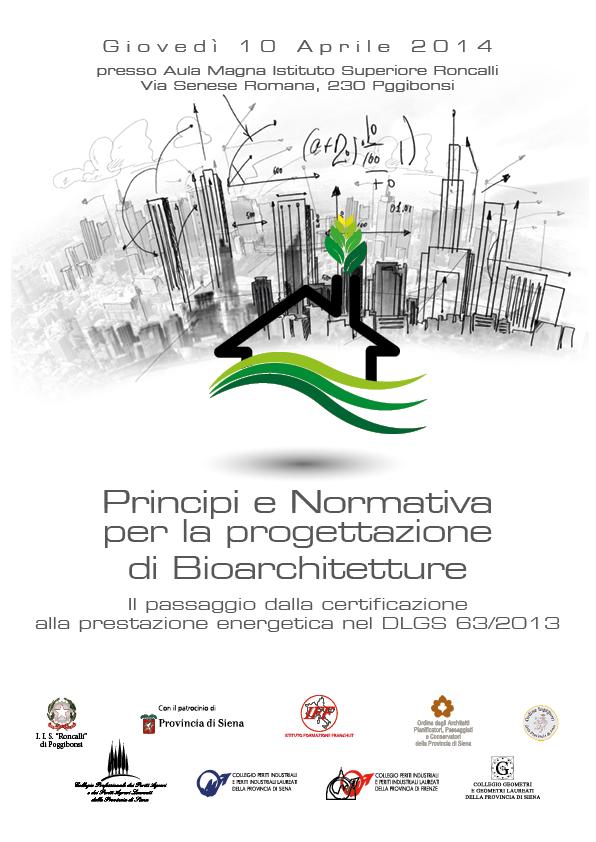 Convegno Bioarchitettura