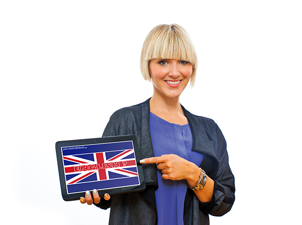 stock-photo-attractive-blond-woman-holding-tablet-with-english-language-sign-on-screen-158669891