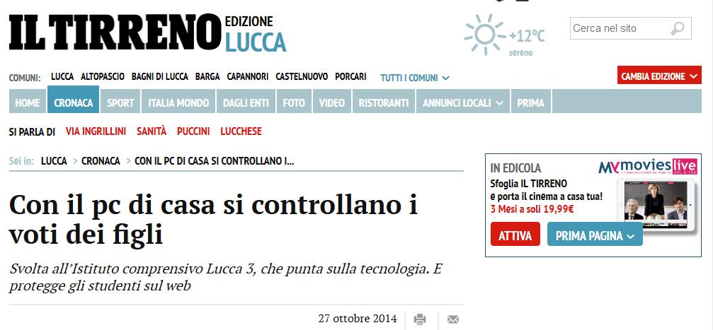Il Tirreno - Lucca